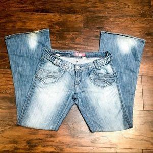 H&M Cool Flare Leg Jeans